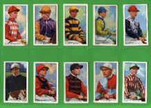 Cigarette cards Famous Jockeys 1936 set of 48 complete